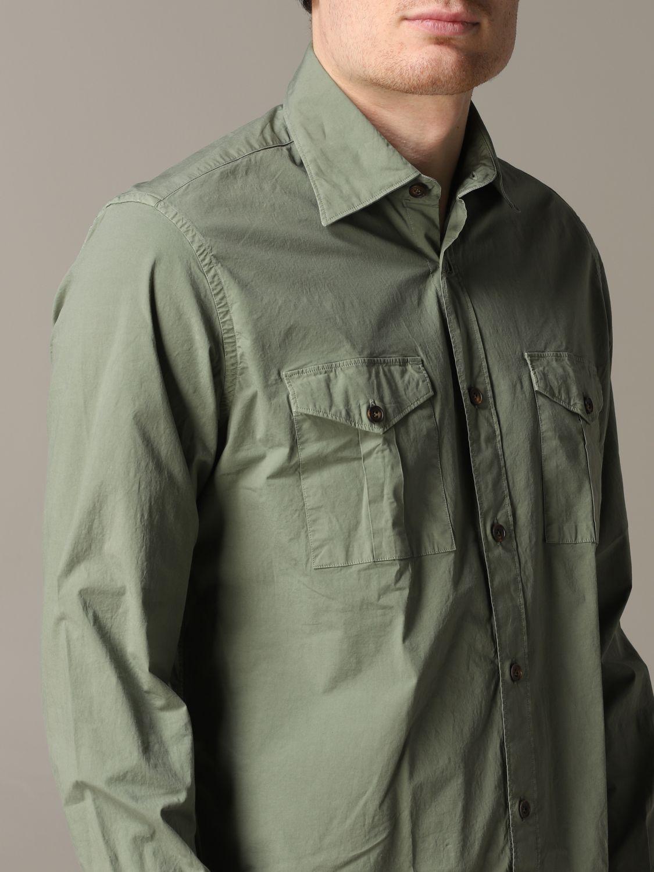Shirt Eleventy: Shirt men Eleventy military 5