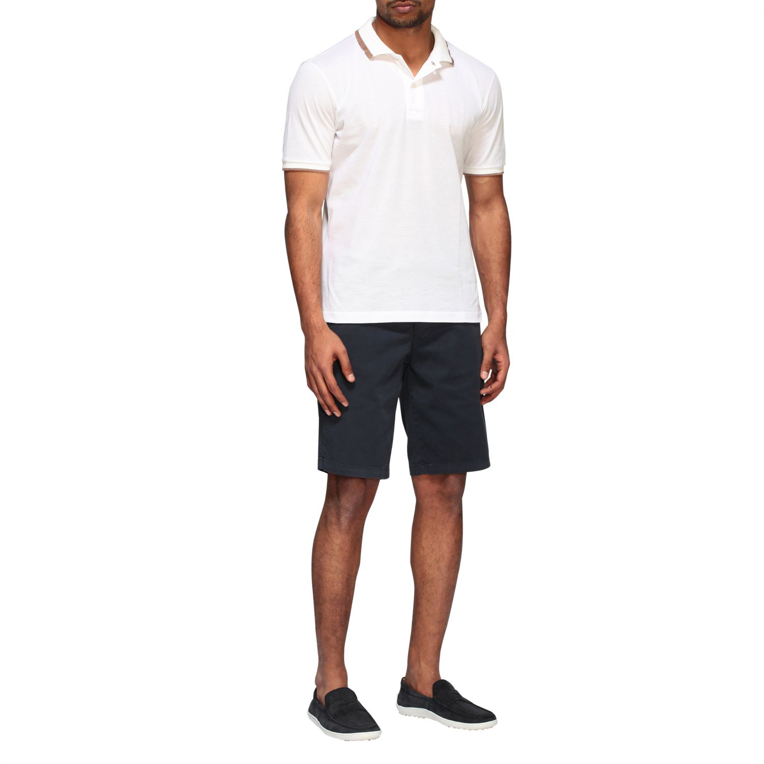 Polo shirt Eleventy: Eleventy Platinum short-sleeved polo shirt white 2