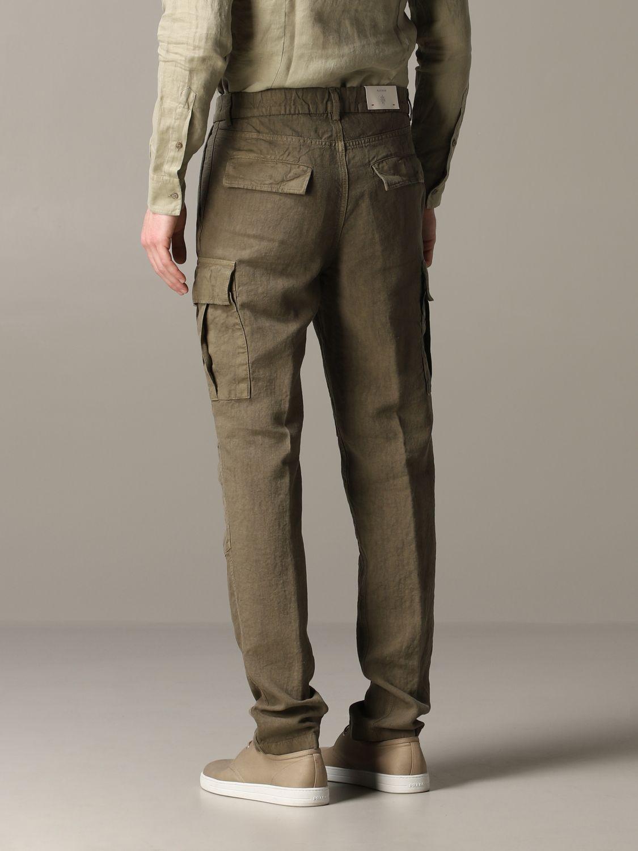 Pants Eleventy: Pants men Eleventy military 3