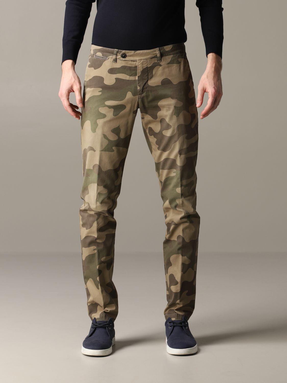 Pants Eleventy: Pants men Eleventy military 1