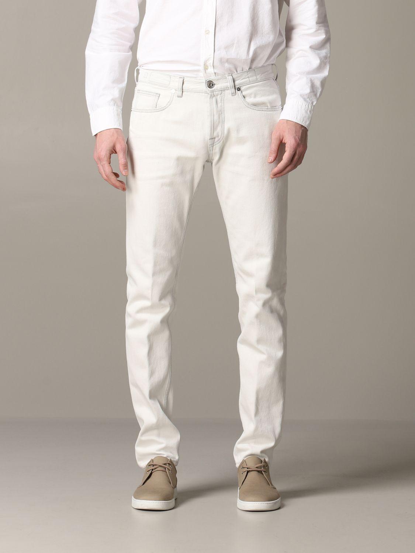 Jeans Eleventy: Jeans men Eleventy yellow cream 1