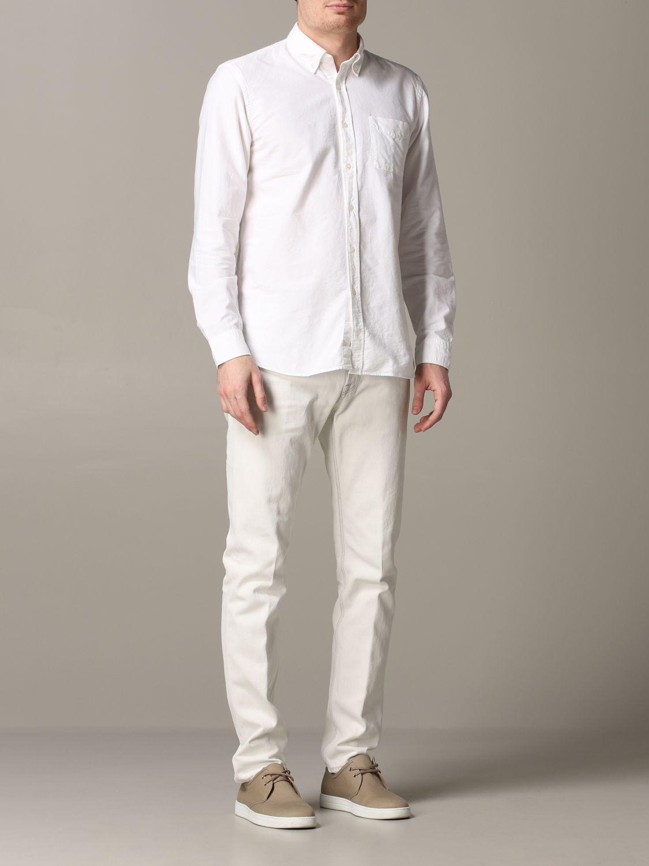 Jeans Eleventy: Jeans men Eleventy yellow cream 2