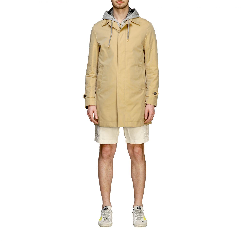 Coat men Eleventy camel 1