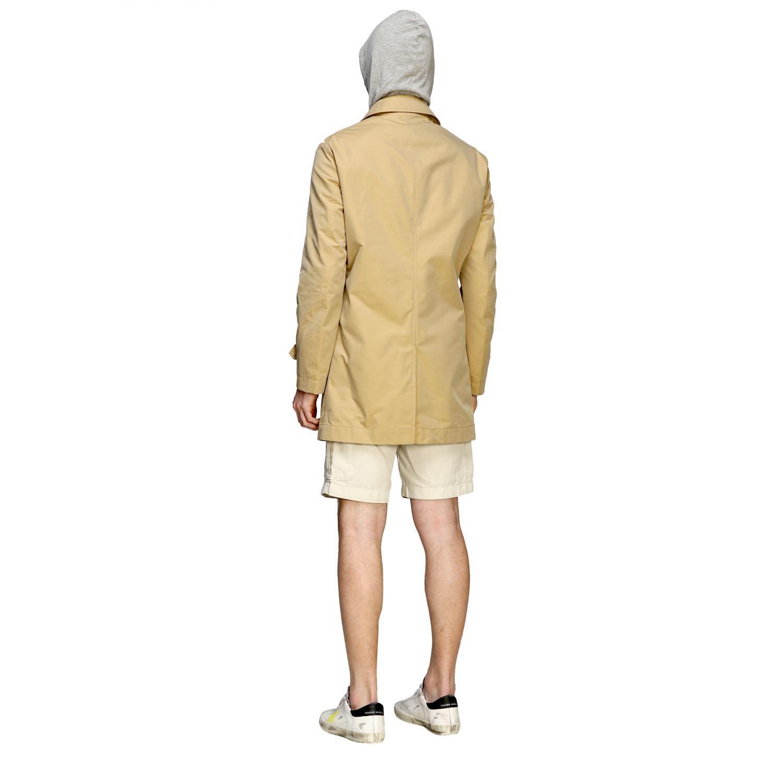 Coat men Eleventy camel 2