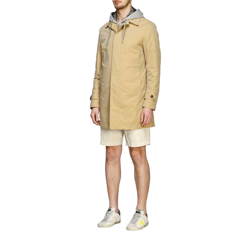 Coat men Eleventy camel 3