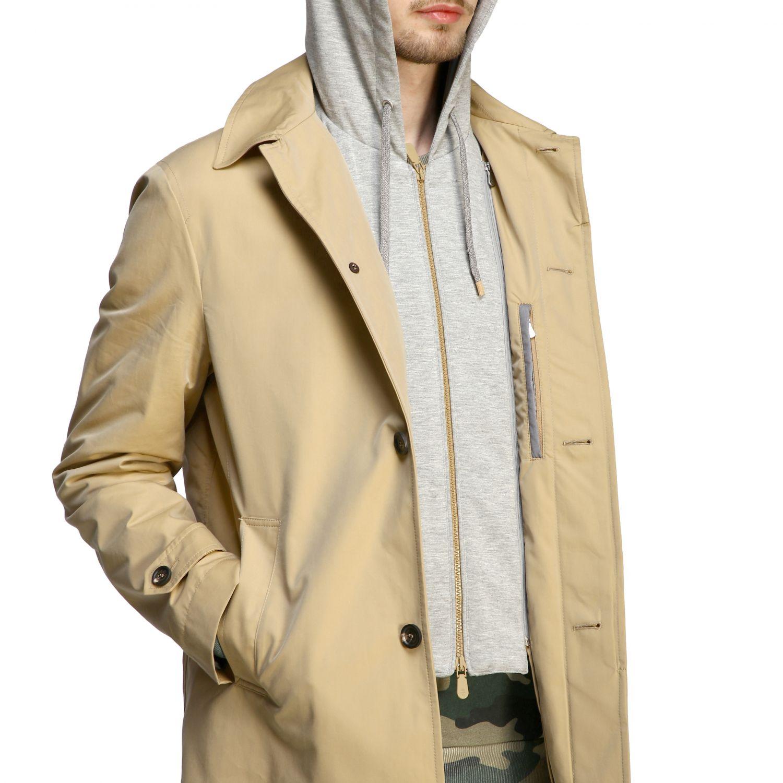 Coat men Eleventy camel 4