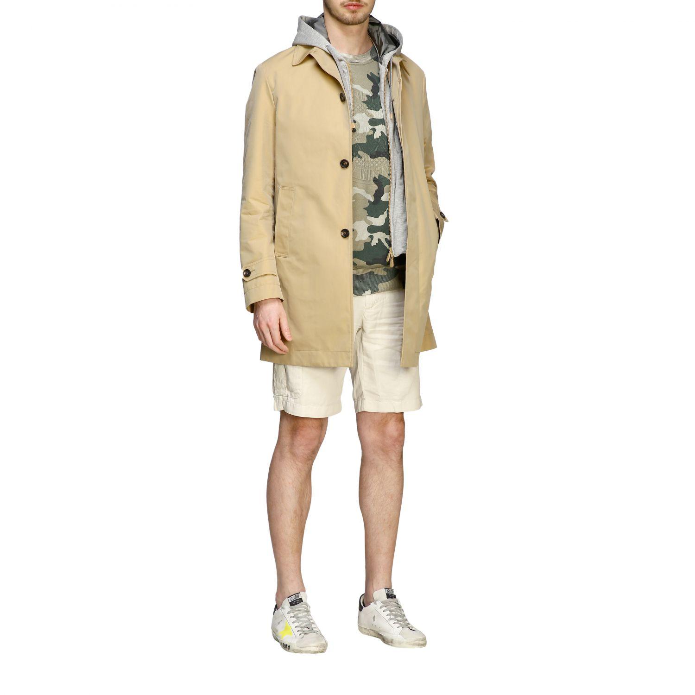 Coat men Eleventy camel 5