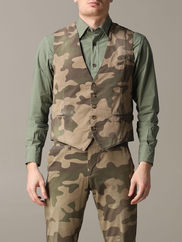 Suit vest Eleventy: Suit vest men Eleventy military 1