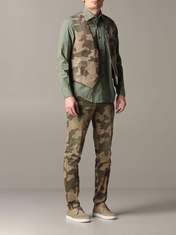 Suit vest Eleventy: Suit vest men Eleventy military 2