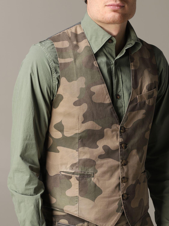 Suit vest Eleventy: Suit vest men Eleventy military 5