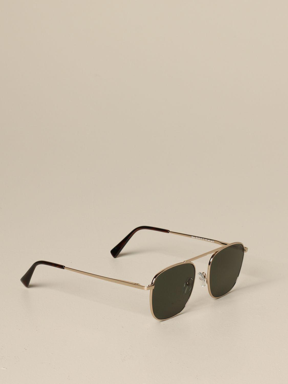 Eleventy Brillen aus Metall military 1