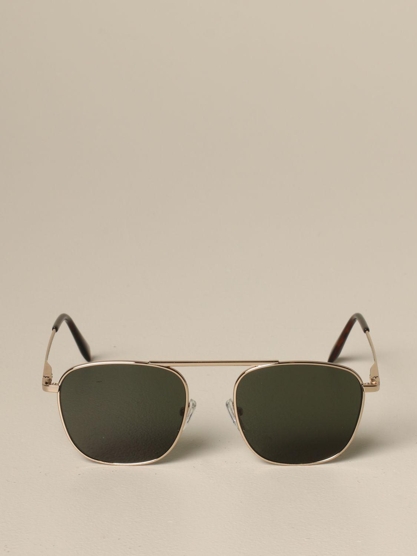 Eleventy Brillen aus Metall military 2