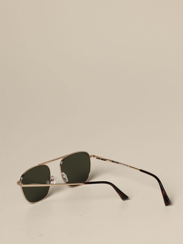 Eleventy Brillen aus Metall military 3