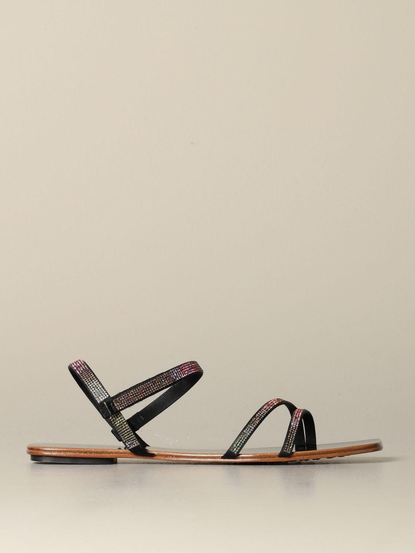 Flat sandals Pedro Garcia: Shoes women Pedro Garcia black 1