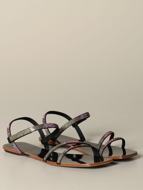 Flat sandals Pedro Garcia: Shoes women Pedro Garcia black 2
