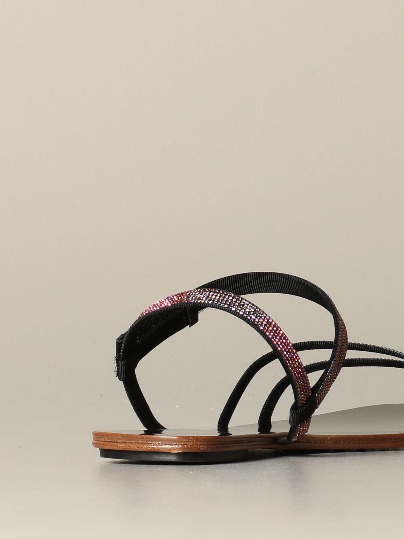 Flat sandals Pedro Garcia: Shoes women Pedro Garcia black 3