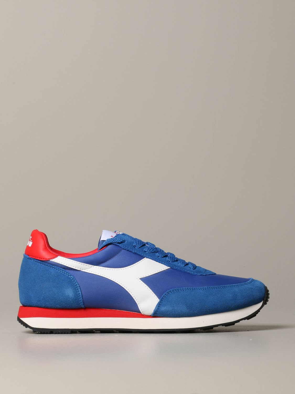 Sneakers Diadora: Shoes men Diadora royal blue 1