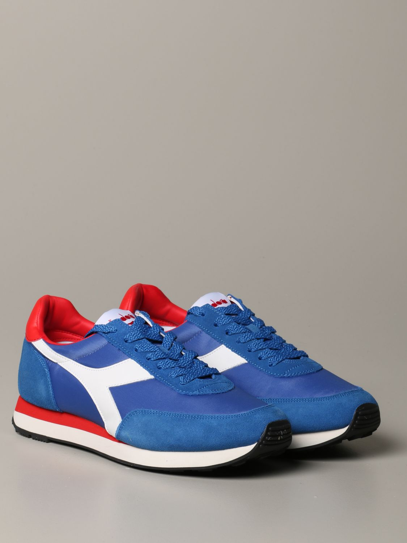 Sneakers Diadora: Shoes men Diadora royal blue 2
