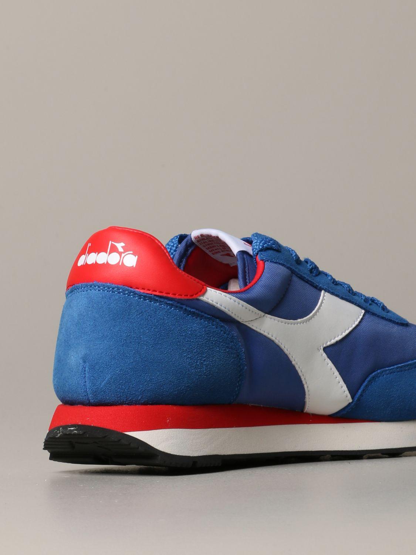 Sneakers Diadora: Shoes men Diadora royal blue 3