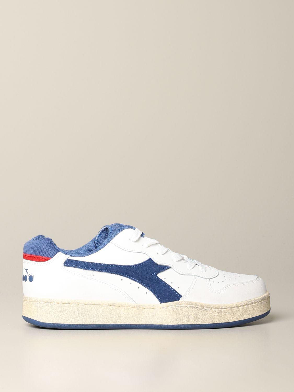 Sneakers Diadora: Shoes men Diadora white 1