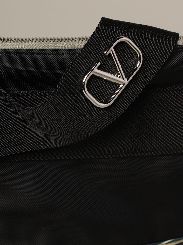 腰包 Valentino Garavani: Valentino Garavani 红龙印花腰包 绿色 3