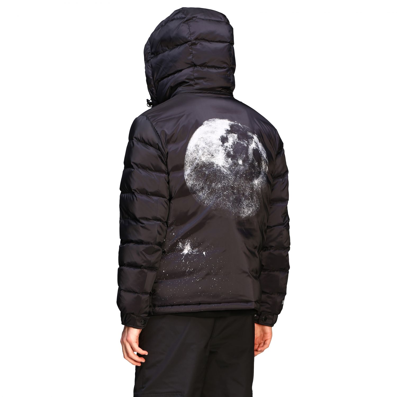 Куртка Valentino: Куртка со съемным капюшоном и логотипом Мужское Valentino черный 3