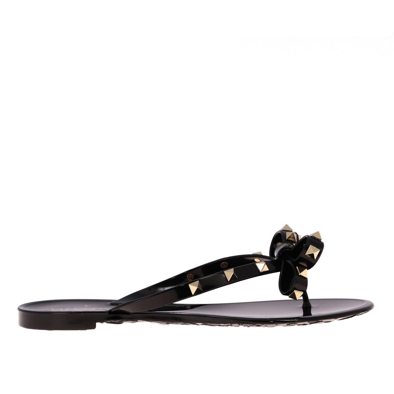 鞋 女士 Valentino Garavani 黑色 1