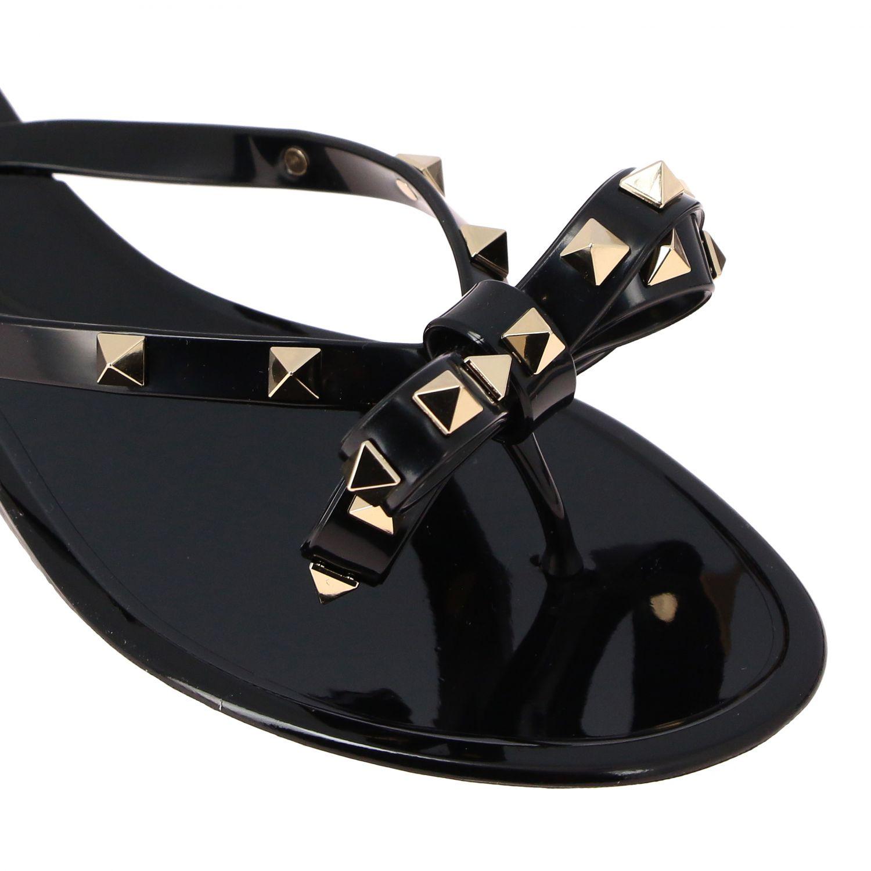 鞋 女士 Valentino Garavani 黑色 4