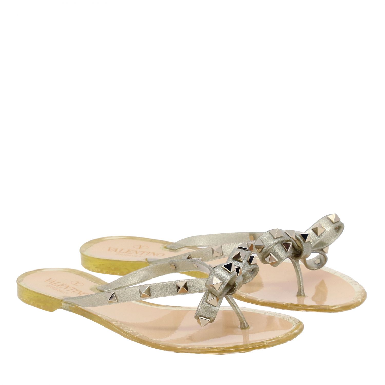 Chaussures femme Valentino Garavani or 2