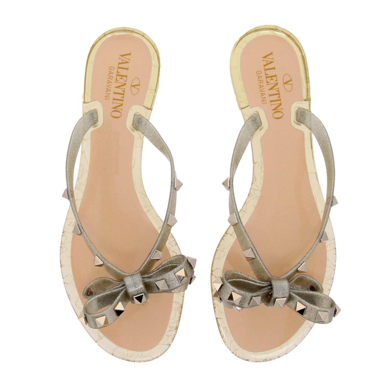 Chaussures femme Valentino Garavani or 3