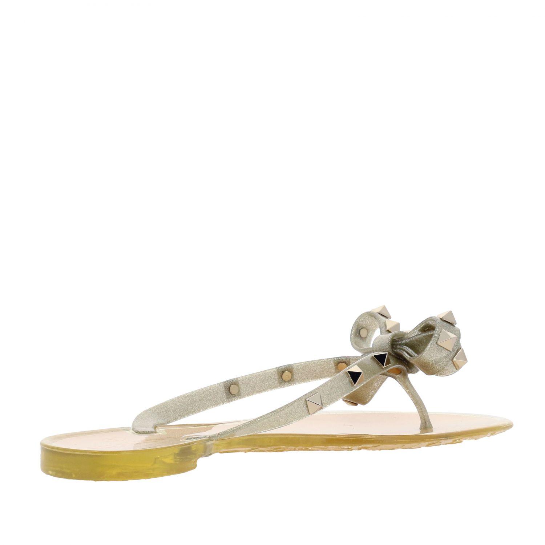 Chaussures femme Valentino Garavani or 5