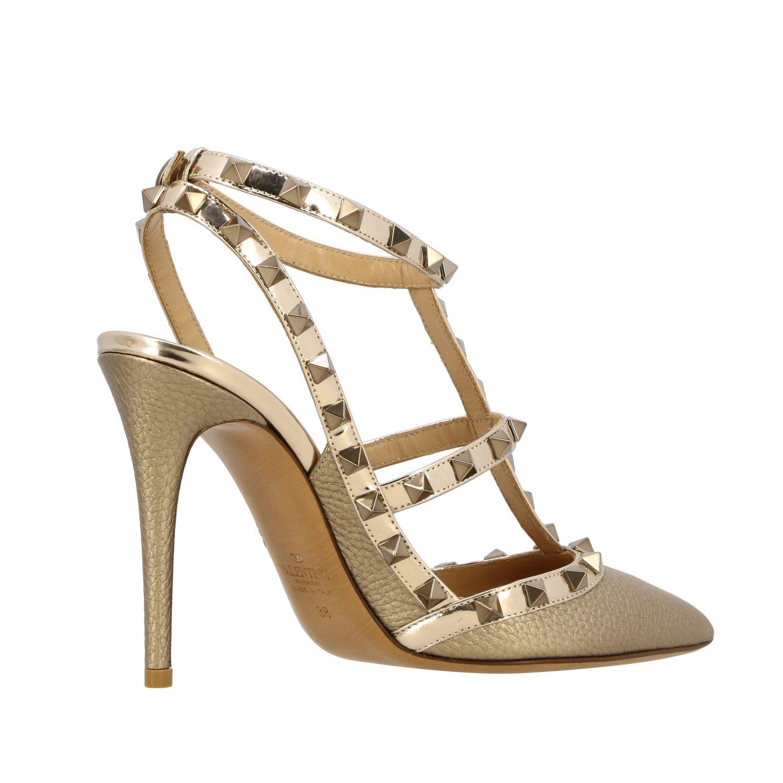 鞋 女士 Valentino Garavani 金色 5