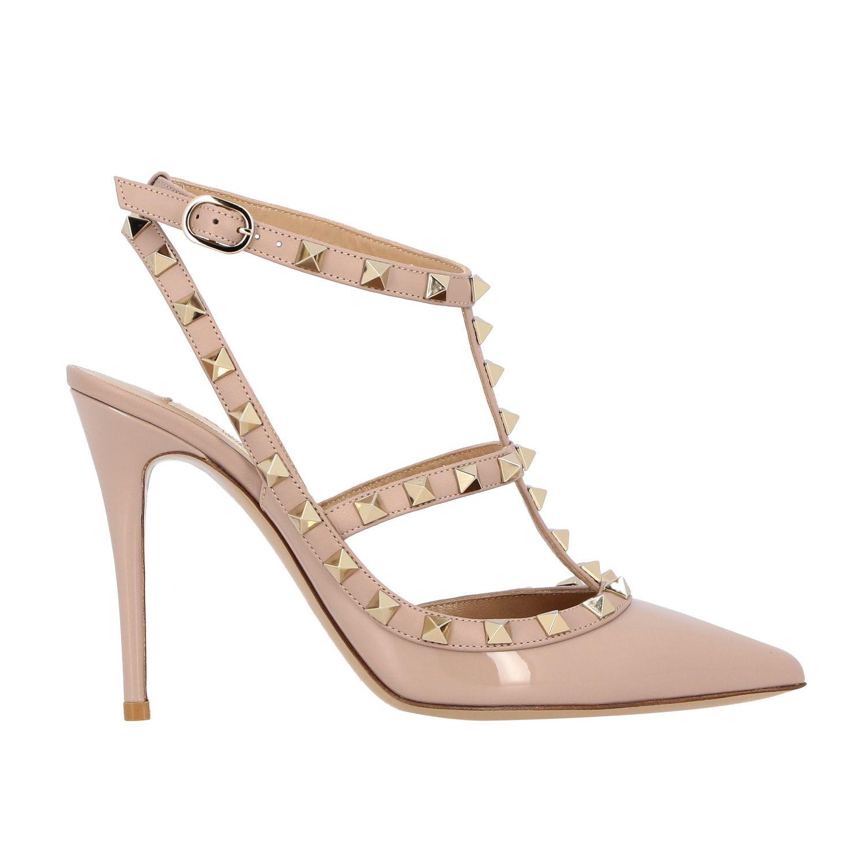 鞋 女士 Valentino Garavani 粉末色 1