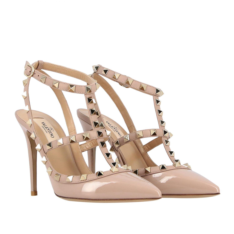 鞋 女士 Valentino Garavani 粉末色 2