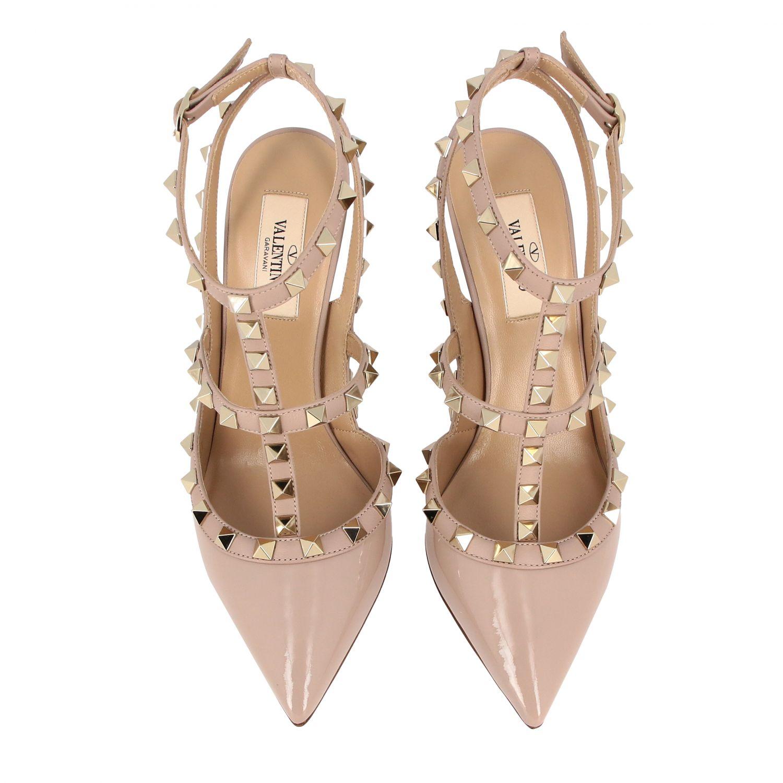 鞋 女士 Valentino Garavani 粉末色 3