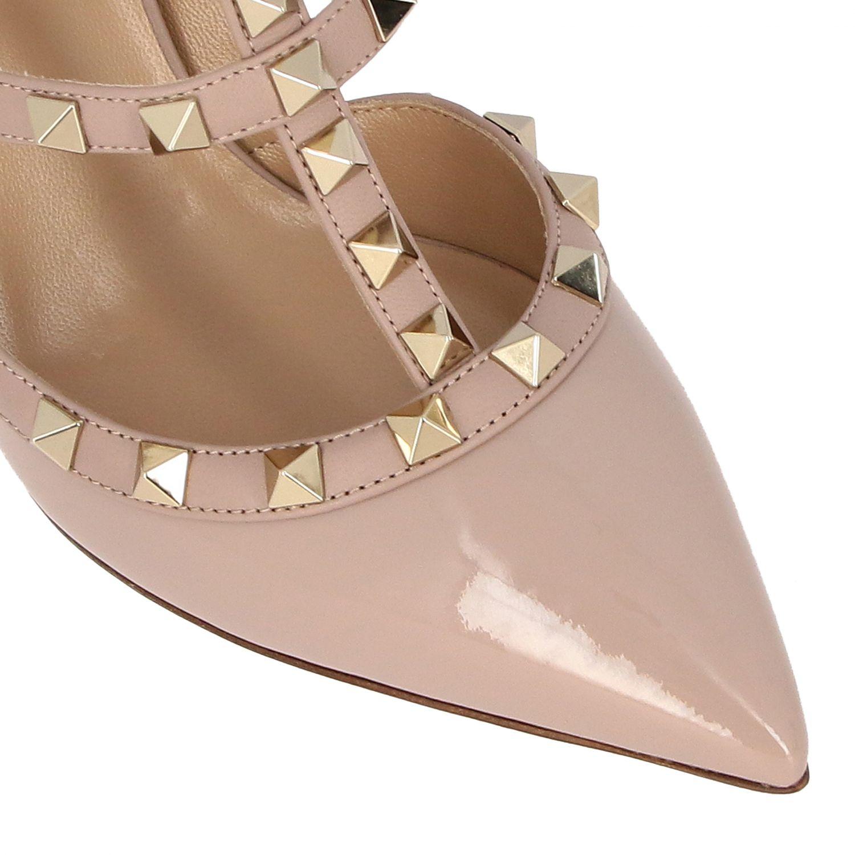鞋 女士 Valentino Garavani 粉末色 4