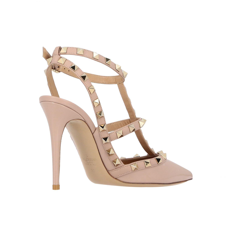 鞋 女士 Valentino Garavani 粉末色 5