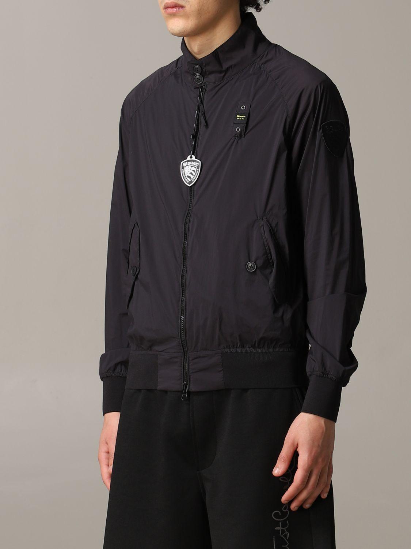 Jacke herren Blauer schwarz 4