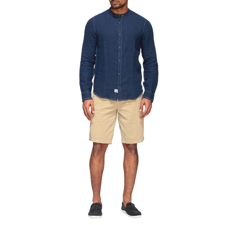 Camisa hombre Blauer azul oscuro 2