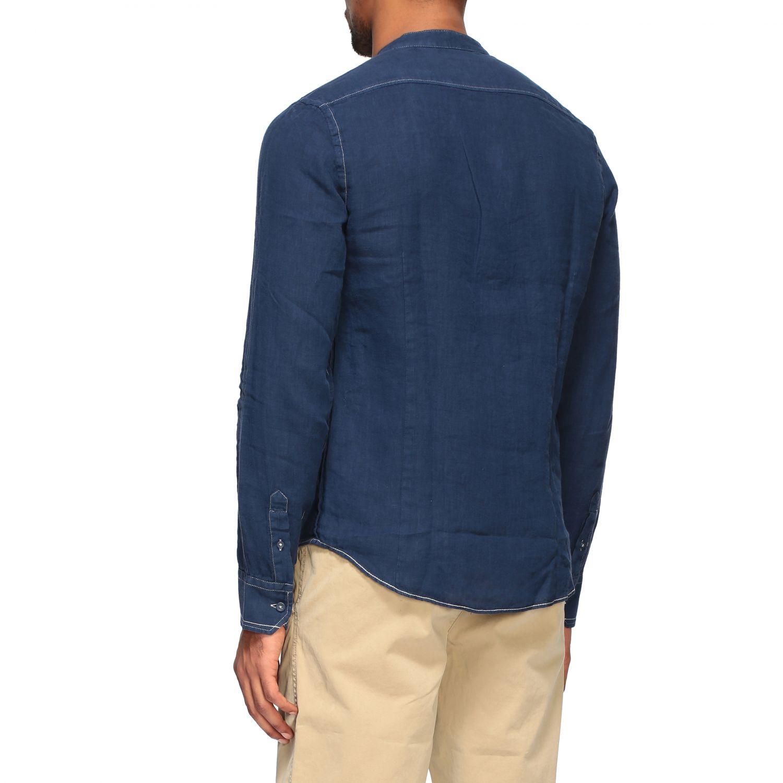 Camisa hombre Blauer azul oscuro 3
