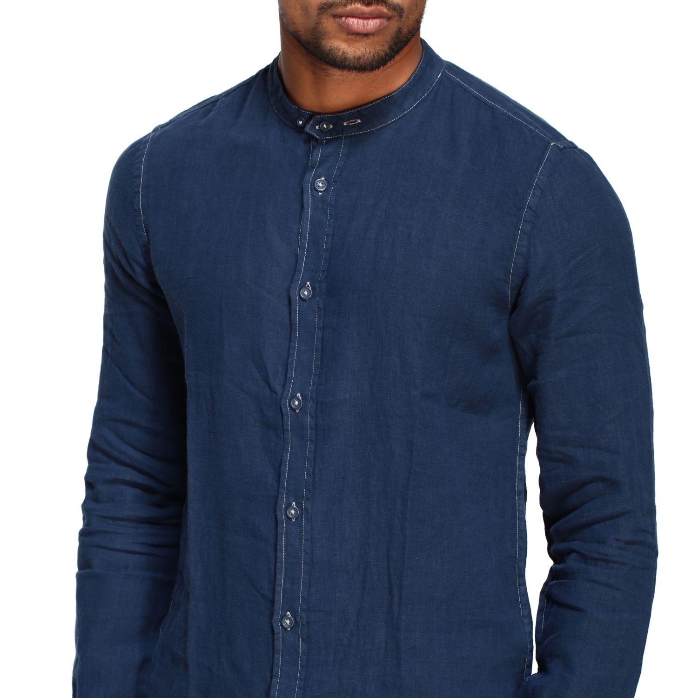 Camisa hombre Blauer azul oscuro 5