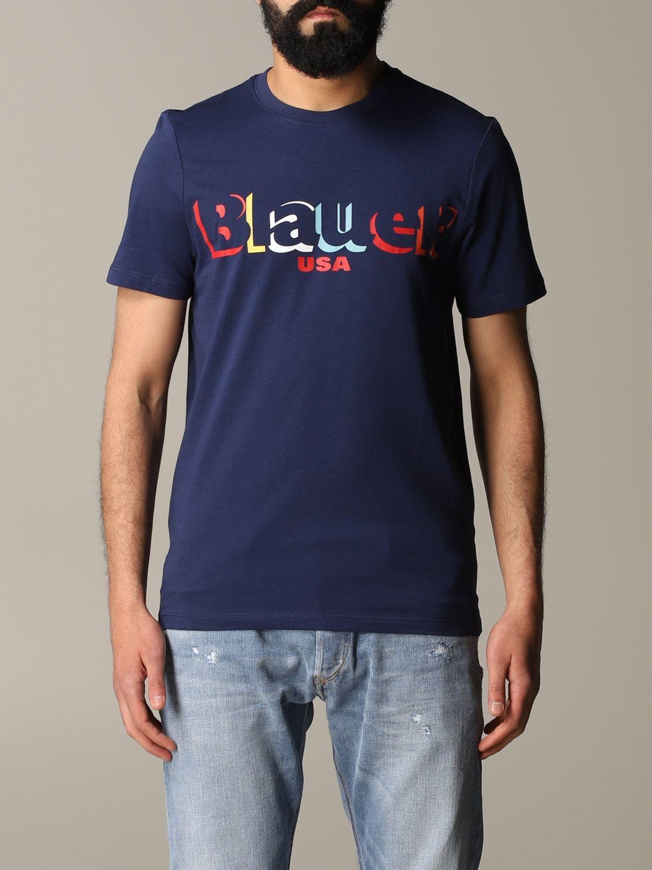 T-shirt herren Blauer blau 1