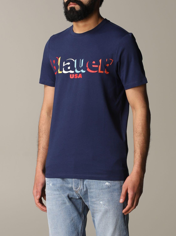 T-shirt herren Blauer blau 4