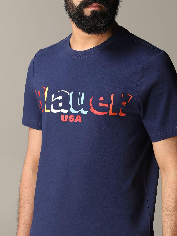 T-shirt herren Blauer blau 5
