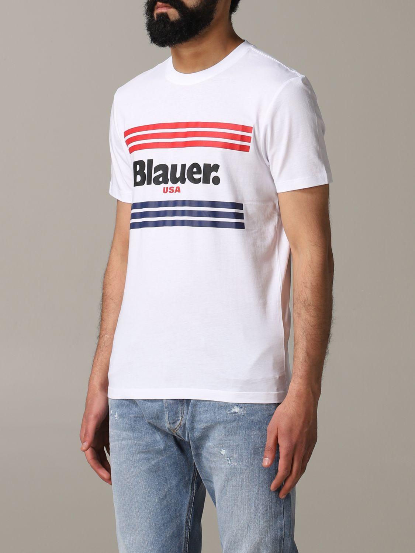 Футболка Blauer: Футболка Мужское Blauer белый 4