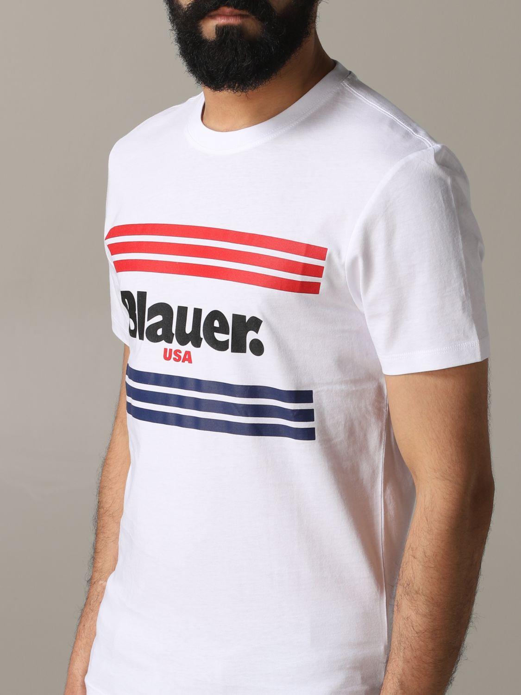 Футболка Blauer: Футболка Мужское Blauer белый 5