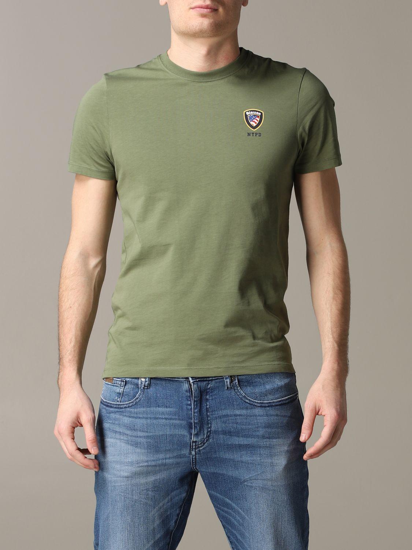T-Shirt Blauer: T-shirt herren Blauer military 1