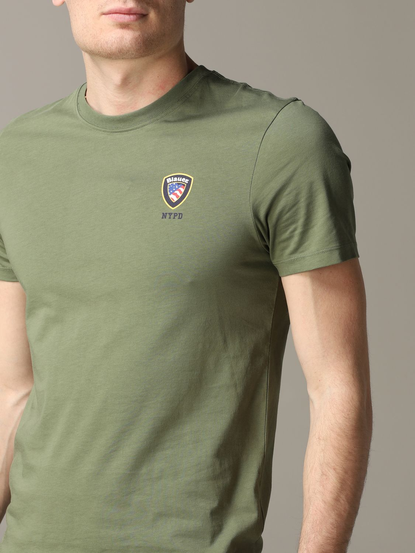 T-Shirt Blauer: T-shirt herren Blauer military 5