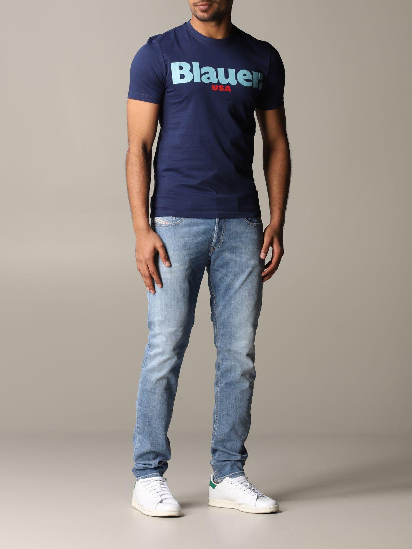 T-shirt Blauer: T-shirt men Blauer blue 2