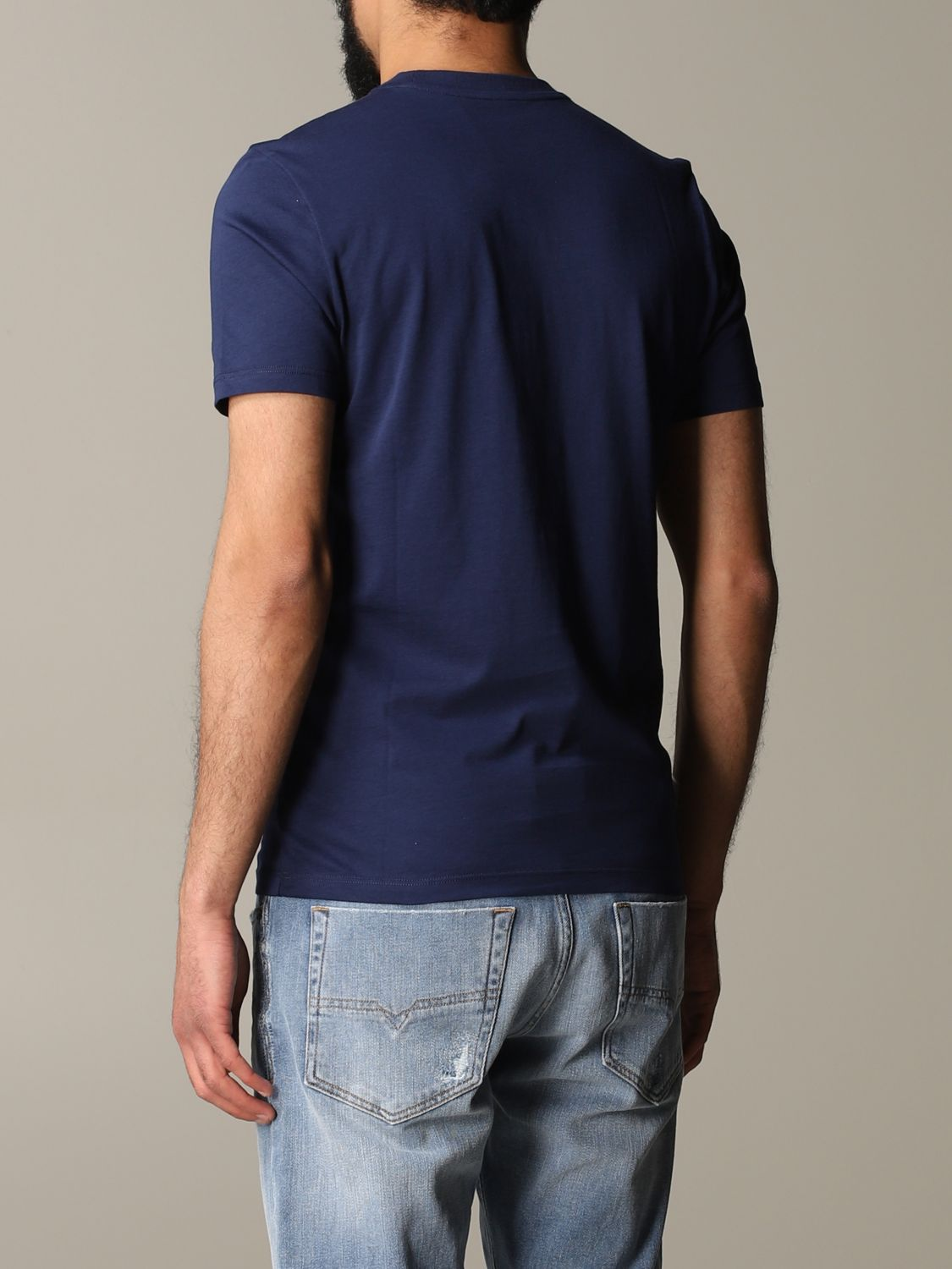 T-shirt Blauer: T-shirt men Blauer blue 3